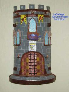 sandylandya@outlook.es Entrada a castillo en teja. Castle entrance on roof tile.