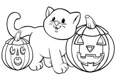 free halloween coloring worksheets free online printable coloring pages, sheets for kids. Get the latest free free halloween coloring worksheets images, favorite coloring pages to print online by ONLY COLORING PAGES. Halloween Pumpkin Coloring Pages, Halloween Coloring Pages Printable, Free Halloween Coloring Pages, Free Printable Coloring Pages, Halloween Printable, Fall Coloring Sheets, Bat Coloring Pages, Disney Coloring Pages, Coloring Books