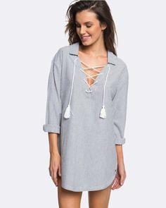 Buy Womens Lonely For You Overswim Shirt Dress by Roxy online at THE ICONIC. Free and fast delivery to Australia and New Zealand.