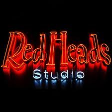neon sign Redheads, Neon Signs, Studio, Red Heads, Ginger Hair, Studios, Red Hair