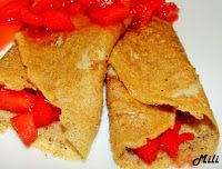 Zdravě a hravě: Celozrnné pohankové palačinky s jahodovou omáčkou
