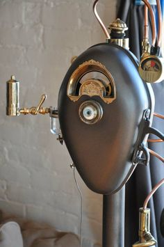 SP-PM Prototype by Bruce Fowler (Steampunk parking meter) | Steampunk Springfield: Re-Imagining an Industrial City