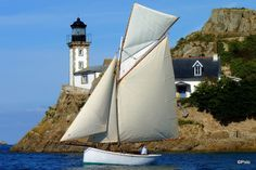 """""""Le Dourduff """" , Cotre pilote de la Baie de Morlaix"""