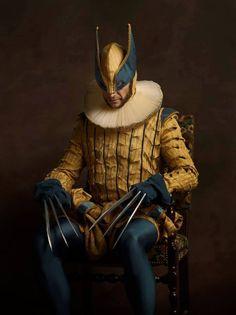 Bildergalerie: So würden Spider-Man, Batman & Co. als Edelmänner aus dem 16. Jahrhundert aussehen