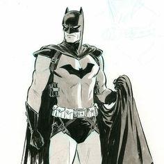 """""""It's not a cape, it's a parachute."""" Batman - Paolo Rivera"""