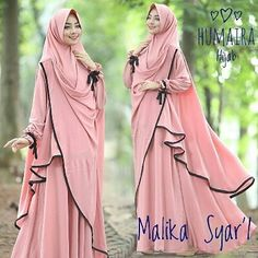 MALIKA BY HUMAIRA  GAMIS DAN KHIMAR BUBBLEPOP  GAMISFURING SLETING DEPAN (BUSUI) KARET BELAKANG SAKU KANAN KIRI LD 110 PB 145 KLOK 4MTR  Detail KHIMAR CARDI PD 100 PB 150  Retail: 355.000 Reseller 335.000 est. ready 6 nov  Dp 50% = booking  Line @kni7746k  Wa 62896 7813 6777  #pin #malikabyhumaira #jualgamiskhimarbranded #jualgamisbrandedmodern #gamissyaribrandedterbaru #gamissyaripremiummurah #gamissyaripolosbranded #distributorgamissyarisetkhimar #distributorgamissyaribrandedoriginal… Long Skirt Hijab, Hijab Dress, Hijab Outfit, Abaya Fashion, Skirt Fashion, Modest Fashion, Beautiful Hijab, Beautiful Outfits, Moslem Fashion