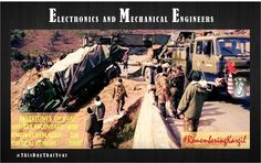 Electronics & Mechanical Engineers carried out repairs in forward areas during Operation Vijay under intense enemy fire. #http://RememberingKargilpic.twitter.com/1xjdfppEQA #IndianArmy #Army