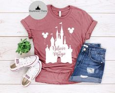 Disney Vacation Outfits, Cute Disney Outfits, Disney World Outfits, Family Vacation Shirts, Disney World Shirts, Disney Vacations, Disneyland Shirts, Cute Disney Shirts, Disney Christmas Shirts