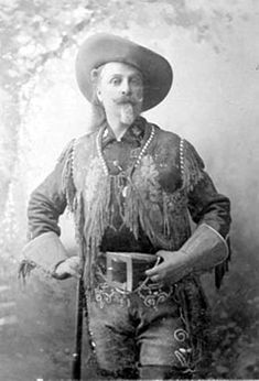 Buffalo Bill Cody (1846-1917), American scout, bison hunter, and showman, ca. 1894. Cody set up his independent exhibition near the Fair, which greatly contributed to his popularity in the United States. It vexed the Fair's promoters, who had first rejected his request to participate.