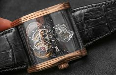 """Cabestan Triple Axis Tourbillon Watch Hands-On - by Ariel Adams - see the hands-on photos and read more - on aBlogtoWatch.com """"Cabestan and their star watch maker Eric Coudray have debuted a new timepiece for 2015 that is technically interesting and in line with the avant-garde luxury watch brand's established theme. Cabestan is over a decade old but has lived through a rough time, having multiple owners (on owner number three right now, I believe) and having to survive the financial crisis…"""