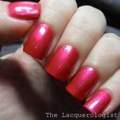The Lacquerologist: Sally Hansen Triple Shine Collection: Swatches and Review - Flame On