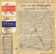 1968  Dirk van de broek opent Supermarkt