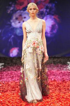 Claire Pettibone's Still Life Wedding Dress Collection - Raven