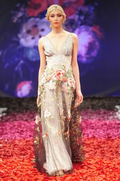 Claire Pettibone's Still Life Wedding Dress Collection - Raven
