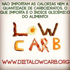 Calorias x Carboidratos