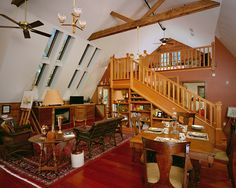 Living Room Barn Loft Design, Pictures, Remodel, Decor and Ideas - page 3