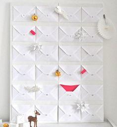 """DIY : un calendrier de l'Avent """"enveloppes"""" sur A Few Things From My Life"""