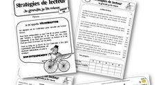 Teacher Charlotte: Vélociraptor : fichier d'entrainement à la fluence de lecture pour CE et CM (Fluor) French Class, Cycle 3, Guided Reading, Bullet Journal, Activities, Writing, School, Jai, Groupes