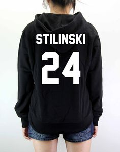 Stiles Stilinski Hoodie Teen Wolf Shirt by PolymorphShirt on Etsy