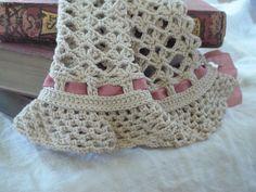 Claudine gauntlet  mitten  fingerless gloves crochet by knitisfun, $5.00
