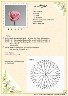 The Book of Crochet Flowers 1_15 (494x700, 237Kb)