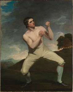 """Richard Humphreys, the Boxer"", by John Hoppner, 1788."