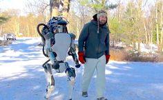 Atlas, il robot androide si rialza da solo