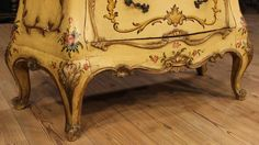 20th Century Lacquered and Gilded Commode 10