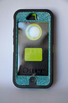 Otterbox Case iPhone 5 Glitter Cute Sparkly Bling by NaughtyWoman, $48.99