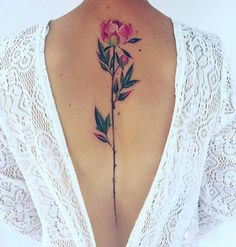 40 DELICATE SPINE TATTOOS ART ALL THE RAGE | CutesyPooh
