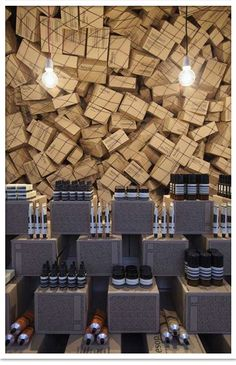 Aesop Skincare Shop designed by March Studio
