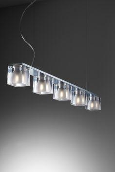 Ice Cube - SO5 - Fabbian #Lampefeber #Design #Lighting #Lamp
