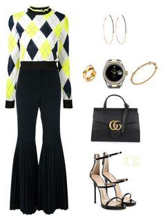 """It's by Maria Clara/ fashion/ look"" by itsbymariaclara on Polyvore featuring STELLA McCARTNEY, MSGM, Giuseppe Zanotti, Rolex, Cartier, Lana and Gucci"