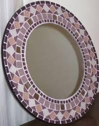 Resultado de imagen para mosaiquismo espejos redondos dibujo un gato