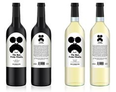 The man from Chuela & The spanish cliché - wines by jonas carlberg, via Behance For all you #wine loving #packaging peeps. PD