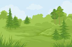 абстрактные лесные пейзажи: 12 тыс изображений найдено в Яндекс.Картинках