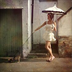 Love this umbrella shape!