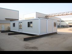 Hebei Baofeng 40ft Container House Installation - YouTube