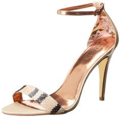 Ted Baker Women's Saffia Dress Sandal,Nude. Can a girl ever own too many shoes?