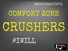 RUNNING WITH OLLIE: Comfort Zone Crushers: Weekly Challenge - Join our group! click through to read