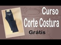 Corte e Costura passo-a-passo Barra de Calça Jeans Fácil - YouTube                                                                                                                                                      Mais