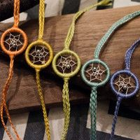 Dreamcatcher bracelets for tween/ teen girl birthday party