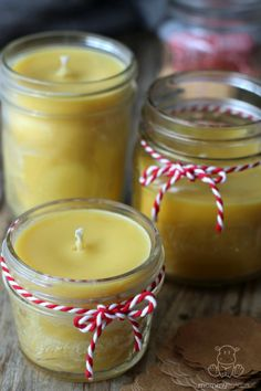 Making homemade beeswax candles is SO. MUCH. EASIER. than you probably think! I made up a huge batch for this fall. Here's how . . .