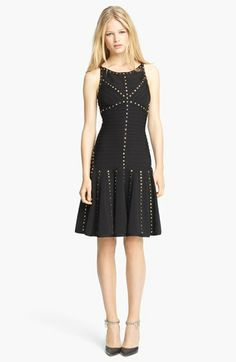 Herve Leger Gold Studded Dress. Super love this came in at Nordys last week. 2000 dollars + want