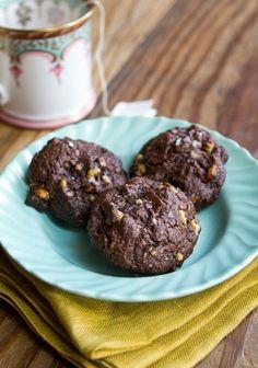 Recipe: Dark Chocolate Walnut Cookies — Dessert Recipes from The Kitchn   The Kitchn