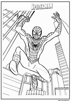 Spiderman Coloring Pages Printable . 24 Spiderman Coloring Pages Printable . the Amazing Spider Man Coloring Pages Spiderman Color Coloring Sheets For Boys, Free Kids Coloring Pages, Halloween Coloring Pages, Free Printable Coloring Pages, Coloring Book Pages, Coloring For Kids, Superman Coloring Pages, Avengers Coloring Pages, Spiderman Coloring