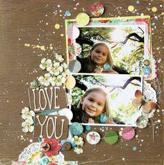 Love You Layout - Renee Zwirek