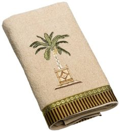 Palm Tree Hand Towels For The Bathroom Home In 2018 Pinterest And