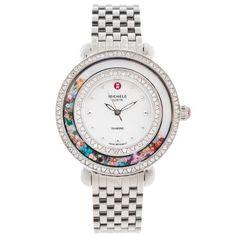 Michele Womens Cloette Carnival Diamond Accented Watch Michele http://www.amazon.com/dp/B00C6PG4YS/ref=cm_sw_r_pi_dp_tAlPub0Q5X834