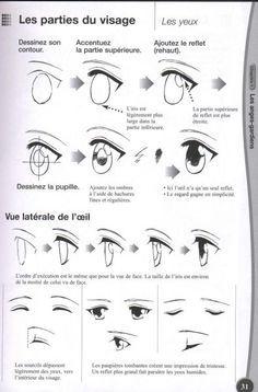 Photos dessin manga yeux page 10
